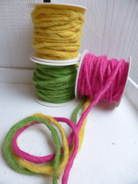 Wollband in tollen Farben, 2,5m